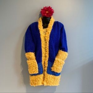 One of a kind knitted jacket